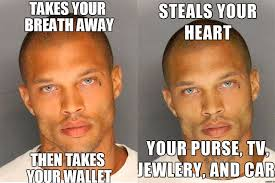 Hot Convict Meme - hot mug shot guy is out of prison coming to a billboard near you