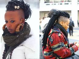 half shaved with braids half shaved head hairstyles for black women blackhairlab com
