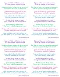 true meaning of easter poem easter symbols