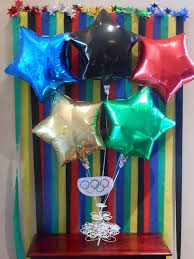 Olympic Themed Decorations Perfect For An Olympics Party Click Through To The Page She Has