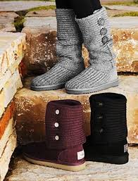 womens ugg knit boots 2013 chic knit ugg boots ugg sweater boots ugg side button boots