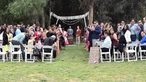 San Diego Backyard Wedding Wedding At Eden Oaks Ranch Valley Center San Diego Weddings