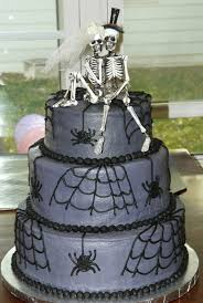 10 halloween wedding cakes that surely will give impostors