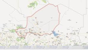 Niger Africa Map by Niger Map