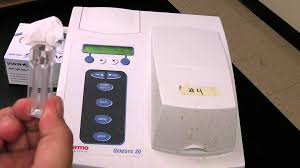 genesys user guide tru chemistry labs how to calibrate and use the spectrophotometer