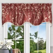 Prairie Curtains Floral Valances U0026 Kitchen Curtains You U0027ll Love Wayfair