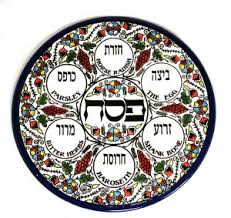 traditional seder plate can you translate the hebrew on my seder plate passover