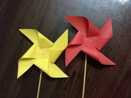 how to make a fan out of paper how to make a paper windmill tutorial paper pinwheel youtube