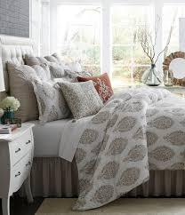 studio d vara floral u0026 peacock medallion cotton u0026 linen comforter