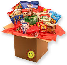 healthy care packages healthy choices deluxe care package supreme gift baskets