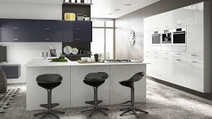 Grey Modern Kitchen Design Modern Kitchens Uk Contemporary Kitchen Design By Sheraton