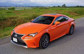lexus luxury sports car 2016 lexus rc 300 awd f sport road test review carcostcanada