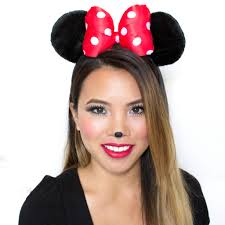 Minnie Mouse Vanity Mirror Mouse Makeup Tutorial