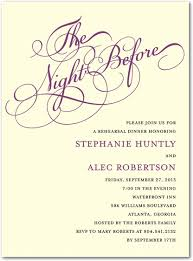 bridal dinner invitations i would never thought of a rehearsal dinner invitation but