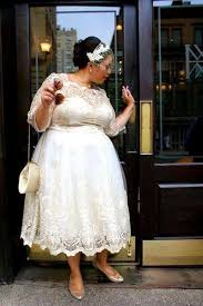 plus size wedding dresses with sleeves tea length discount 2018 cheap price modern wedding dresses tea length