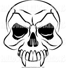 Halloween Skeleton Skeleton Clipart Halloween Skull Pencil And In Color Skeleton