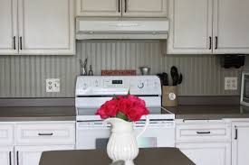 Kitchen Backsplash Using Beadboard Wallpaper Transform Your Home - Wallpaper backsplash