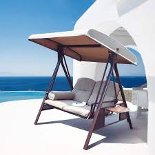 Outdoor Lounge Chair With Canopy 15 Outdoor Chaise Lounges That You Can Buy Right Now