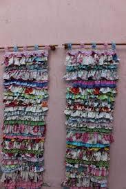 Shabby Chic Curtains Pinterest by White Boho Curtain Hippie Curtain Ruffle Curtain By Cocomiahome