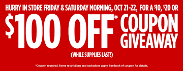the best deals of black friday in jcpenney jcpenney coupon giveaway 10 off 10 20 off 20 100 off 100