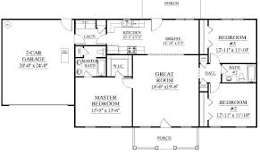 Great Room Floor Plans Single Story Single Story House Plans Without Garage Inspiration House Plans