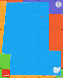 Ohio Union Map by Political Simple Map Of Union County