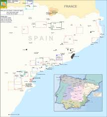 Tarragona Spain Map by Spain Editorial Piolet Hiking Maps Stanfords