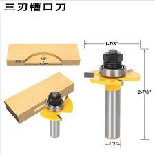 aliexpress com buy 1 pc 1 2 shank matched tongue groove router