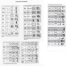 Stairs Floor Plan Symbol by 50 Floor Plan Symbols Kitchen Floor Plan Symbols Home Floor