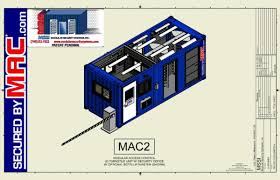 mssi customizable floor plans for guardhouses with turnstiles