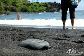 Black Sand Beaches Maui by The Road To Hana Maui Hawaii Worldwide Destination Photography