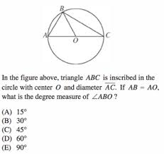 Interior Angles In A Circle Circles On Sat Math Formulas Review And Practice