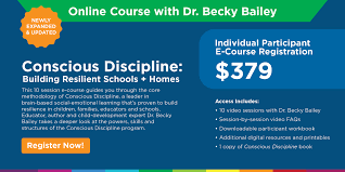 Build Homes Online Online Course U2013 Conscious Discipline