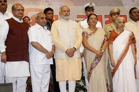 Cabinet Of Narendra Modi Gujarat Chief Minister Anandiben Patel To Expand Her Cabinet