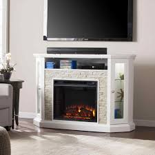 fireplace stone electric fireplace entertainment center