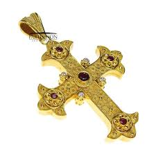 byzantine crosses parthenon jewelry