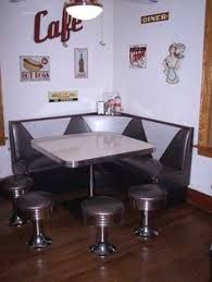 diner style booth table 50 s style diner furniture archives diners retro furniture and retro
