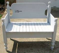 Twin Headboard Plans by Jenny Lind Twin Bed Made Into A Bench Love It Re U0026 Purposed
