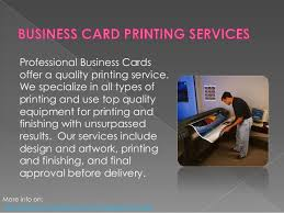 Professional Business Card Printing Professional Business Cards For Professional Services