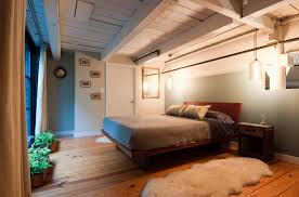 Loft Bedroom Low Ceiling Ideas Glorious Vaulted Ceiling Skylight Over Modern White Small Loft