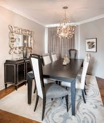 creative ideas to create transitional dining and living rooms by