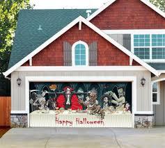 halloween door covers marvellous garage door window covers pictures decoration ideas