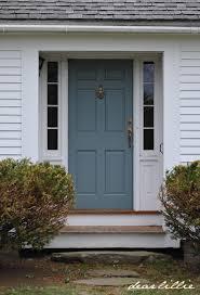 Exterior Door Color Dear Lillie Jason S New Front Door Color