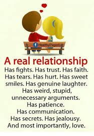 Real Relationship Memes - healthypage4u a real relationship has fights has trust has faith