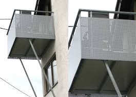 balkon lochblech stahlbau schlosserei und schmiede leippert in engstingen