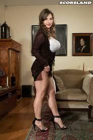 huge porn pic long legged milf samantha lily in heels and thong panties shows