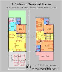 software design layout rumah house floor plans 50 400 sqm designed by teoalida teoalida website