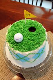themed cakes like this with buttercream tastier then fondant golf themed cake