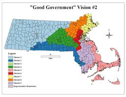 Map Of Massachusetts by Students Submit Redistricting Map Testimony To Beacon Hill
