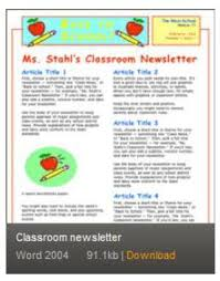 the 25 best newsletter template ideas on pinterest